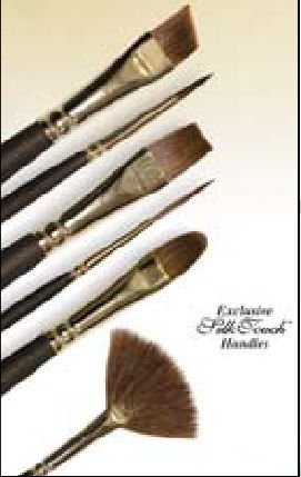 Alvin R5555W-3/4 0.75 Sofia Wash Brushes by Royal & Langnickel