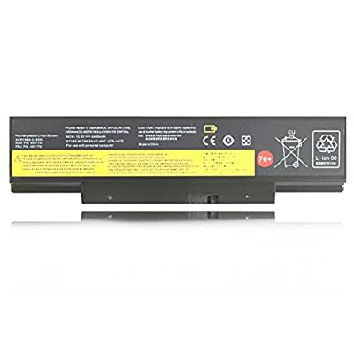 Emaks 45N1762 Battery 45N1763 for Lenovo ThinkPad (Edge) E550 E550C E555 E560 E565 Series 45N1758 45N1759 45N1760 45N1761 - 10.8V 4400mAh 6Cell 76 from Emaks