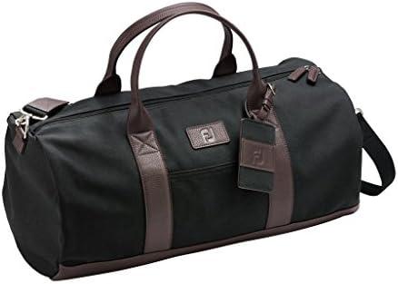 FootJoy Canvas Duffel Golf Bag Black