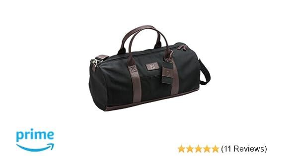 8c4824ab4a Amazon.com   FootJoy Canvas Duffel Golf Bag (Black)   Sports   Outdoors