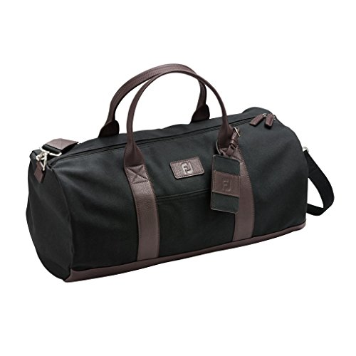 FootJoy Canvas Duffel Golf Bag (Black)