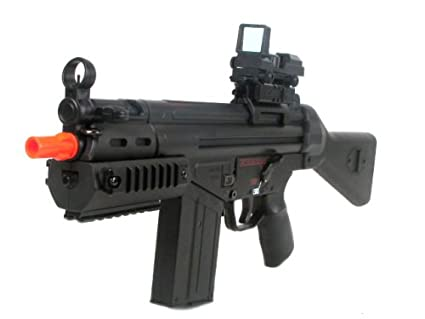 Amazon com : Package Deal - H&K G3 SAS RIS Airsoft Rifle w/ 8000 BBS