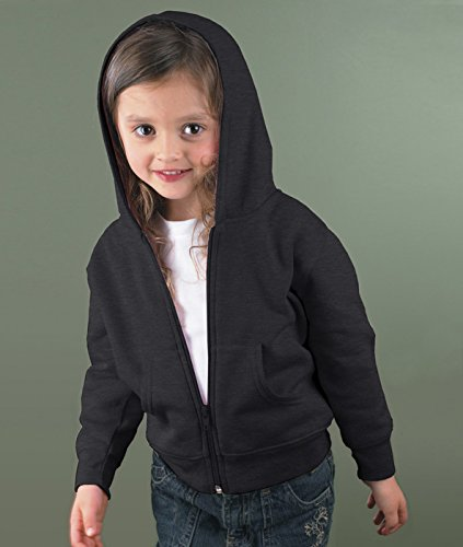 Vintage Fleece Hooded Zip Sweatshirt - 5