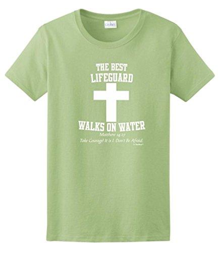 Lifeguard Walks Christian Ladies T Shirt product image