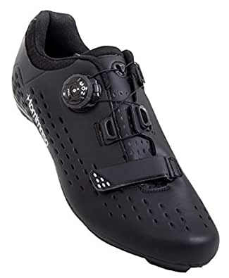tommaso Strada Elite - Quick Lace Style Road Bike Cycling Shoe - 41 Black