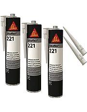 Sika flex-221 weerbestendige hechtende afdichtstof, 300 ml