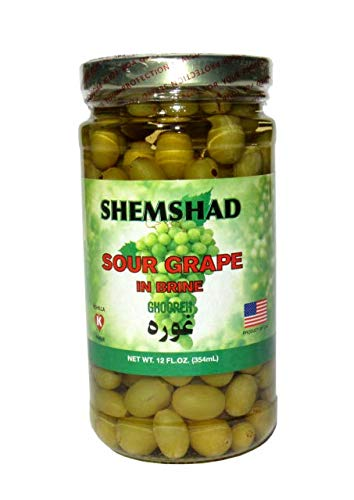 Best sour grapes in brine