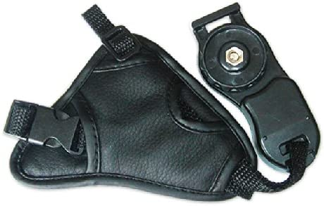 First2savvv OSH0301 new Artificial triangle leather digital camera SLR hand strap grip for Olympus SP-100E FUJIFILM FinePix S1 FinePix S9400W FinePix S9200 FinePix S8600 with LENS Cleaning Cloth