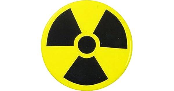 Amazon.com: Símbolo radiactivo 2.25