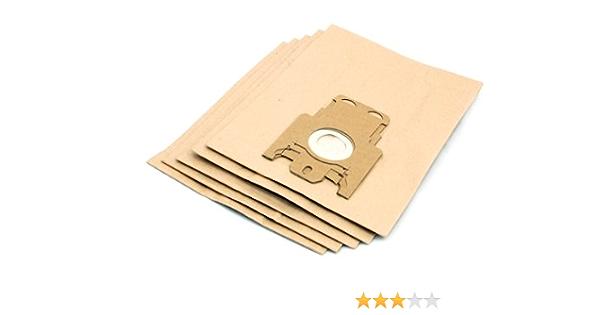 5) bolsas de papel para aspiradora Miele Cat & Dog Series Aspiradora: Amazon.es: Hogar