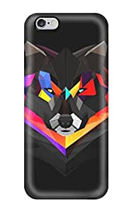 Series Skin Case Cover For Iphone 6 Plus(wolf)