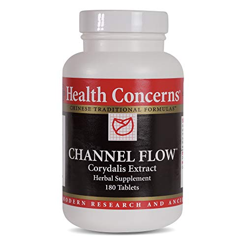 Health Concerns - Channel Flow - Corydalis Extract Herbal Supplement - Modified Huo Luo Xiao Ling Dan - 180 -