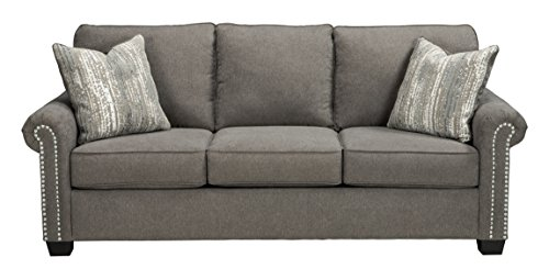 Amazon Com Benchcraft Gilman Contemporary Upholstered Sofa