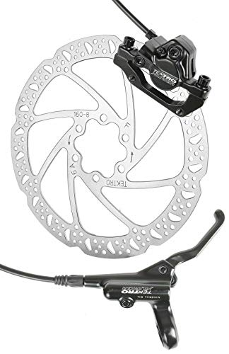 Tektro HD-M290 Hydraulic Disc Brake Rear 1450mm with 160mm Rotor (Bicycle Gold Brake Levers)