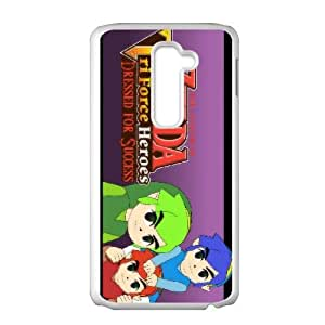 LG G2 Cell Phone Case White The Legend of ZeldaTri Force Heroes 007 GY9281967