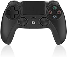 Medvoe Wireless Game Controller for PS4, Built-in Speaker/Gyro/Motor Joystick Remote Gamepad for Playstation 4/Slim/Pro...