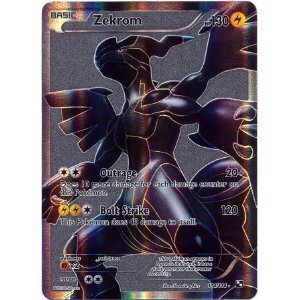 Pokemon Black & White Single Card Zekrom #114 Ultra Rare
