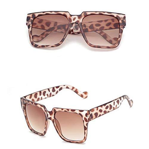 lunettes grande de Lunettes colorées de unisexe rétro polyvalentes F soleil boîte NIFG soleil nqgZpFwWp