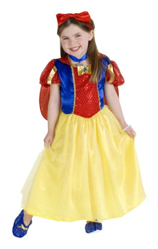 Rubies Snow White Costumes (Rubie's Child's Enchanted Princess Costume, Small)