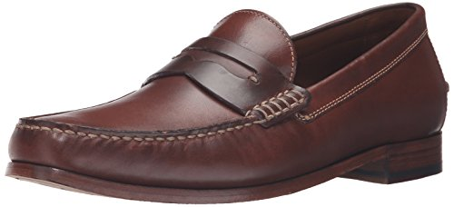 Trask Men's Sadler Penny Loafer, Brandy, 9 M US