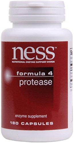 NESS Enzymes - Protease #4 180 VegiCaps