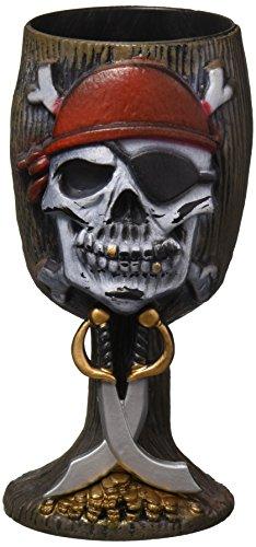 Pirate Skull Goblet ()