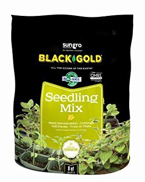 Black Gold 1311002 16-Quart Seedling Mix
