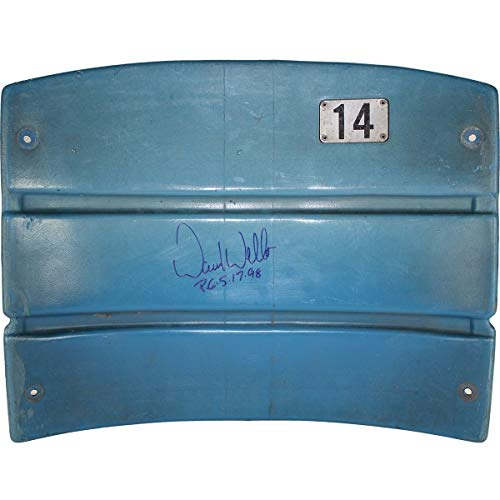 David Wells Autographed Signed Authentic Seatback From The Original Yankee Stadium With Pg Insc Closed Slats ()