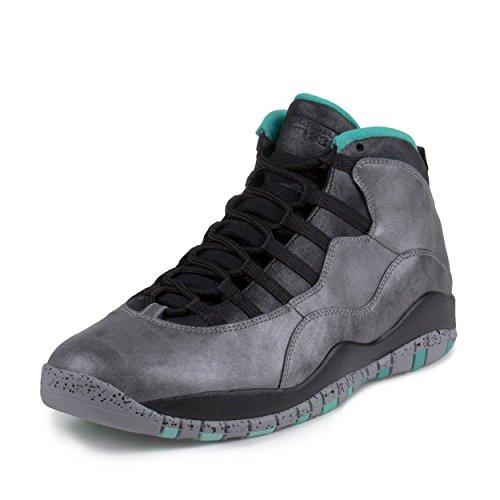 finest selection 874a5 8bfc6 NIKE Mens Air Jordan 10 Retro 30th Lady Liberty Dust/Metallic  Gold-Black-Retro Leather Size 13 Basketball Shoes