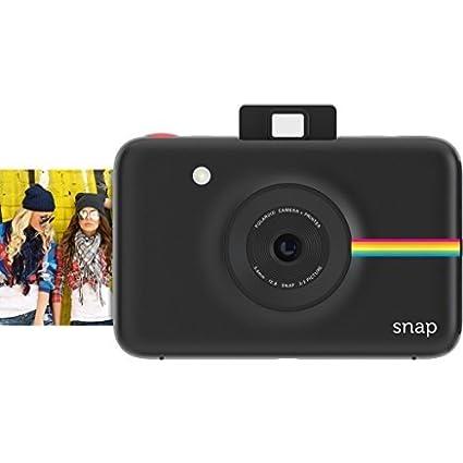 e54b2a00a4 Polaroid Snap POLSP01B 10 MP Instant Digital Camera with Zero Ink Printing  Technology (Black)