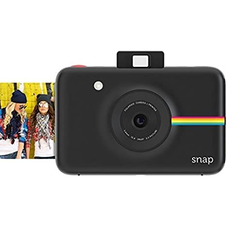 Polaroid Snap Instant Digital Camera (White) with ZINK Zero Ink Printing Technology POLSP01W