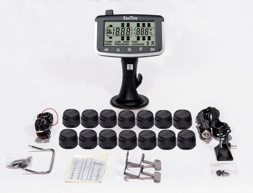 EEZTire Tire Pressure Monitoring System - 14 Sensors (TPMS) - FREE U.S. SHIPPING AT CHECK OUT