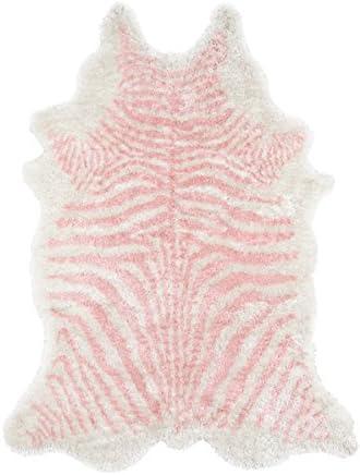 Novogratz Kalahari Collection Area Rug, 3 6 x 5 6 , Pink