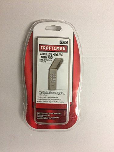 Craftsman 139.3050 Garage Door Opener Remote Keyless Entry Keypad by Craftsman