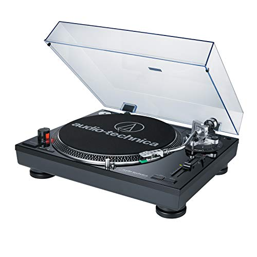 Audio-Technica ATLP120USB Direct Drive Professional USB Turntable - -