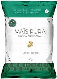 Pipoca Artesanal sabor Lemon Pepper Maïs Pura 50g