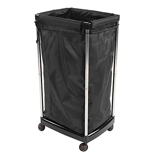 Estink Towel Storage Bucket, Reusable Multifunctional Rolling Laundry Sorter Cart Large Capacity Storing Towels for Salon and Home Use ()