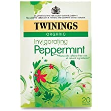 Twinings Pure Peppermint Herbal Tea, 1.41 Ounce Box, 20 Count