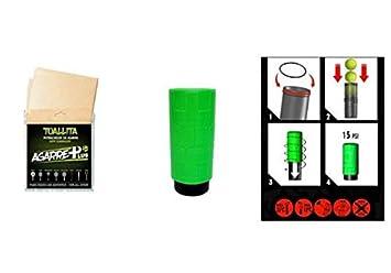 PRO ELITE complementos de padel TUBOPLUS X3 (Verde) + ...