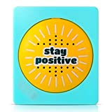 Daily Positivity Talking Button - Says 50 Positive