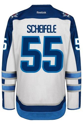 new concept 31d82 8d7d6 Mark Scheifele Winnipeg Jets Reebok Premier Away Jersey NHL Replica