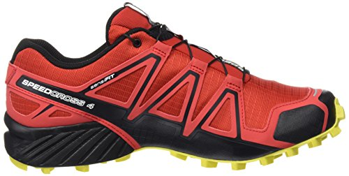 Salomon Männer Speedcross 4 Trail Runner rot