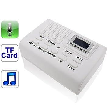 Wewoo grabadora telefónica Caja la Grabador Tarjeta SD/MMC ...