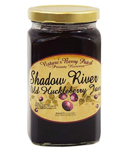 Shadow River Wild Huckleberry Gourmet Jam 15 oz Jar