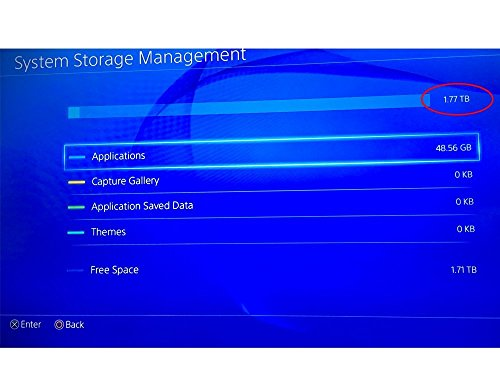 RockingDeals (Playstation 4) PS4 Hard Drive 5TB Data Bank Expansion - Comes with 1 Year Warranty (5TB) by Storite (Image #2)