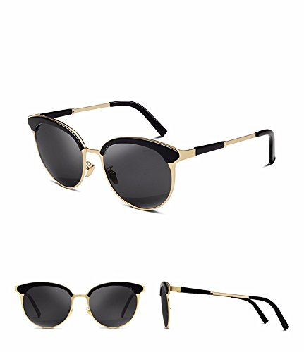 Gafas Xiaogege Sol Mujeres Elegantes Sol Gafas De Personalizados Negro ZnrHOZ0A