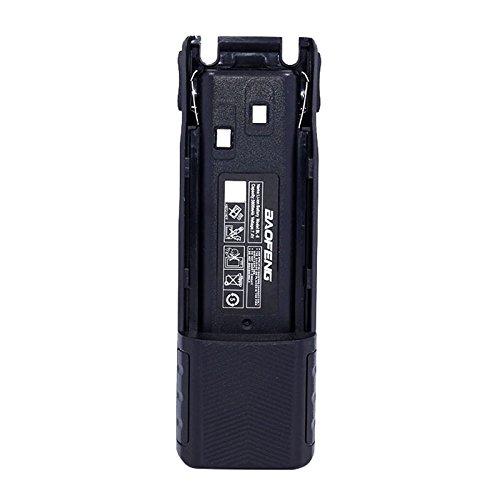 SODIAL 7.4V 3800mAh High Capacity Battery For BaoFeng UV-82 8W Walkie Talkie UV 82 Two Way Radio Accessories