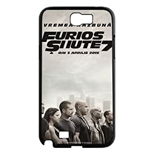 WEUKK fast and furious 7 Samsung Galaxy Note2 N7100 phone case, diy cover case for Samsung Galaxy Note2 N7100 fast and furious 7, diy fast and furious 7 cell phone case