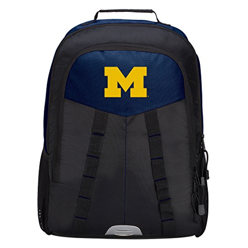 Officially Licensed NCAA Michigan Wolverines Scorcher Sports Backpack, Blue