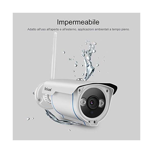 Telecamera Wifi Esterno (1080P) 4 spesavip